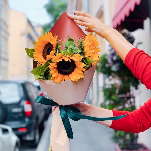Букет Снова в Школу: букеты цветов на заказ Flowwow