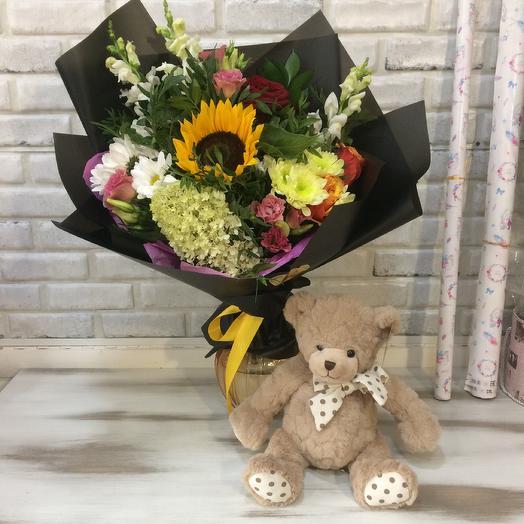 Черный принц: букеты цветов на заказ Flowwow