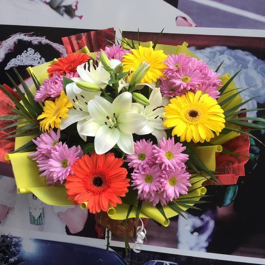 Букет «Летняя Радость»: букеты цветов на заказ Flowwow