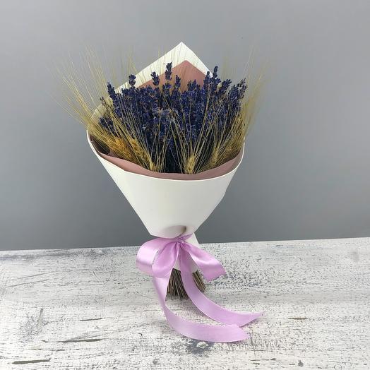 Горная лаванда: букеты цветов на заказ Flowwow