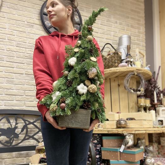 Рождественская елка: букеты цветов на заказ Flowwow