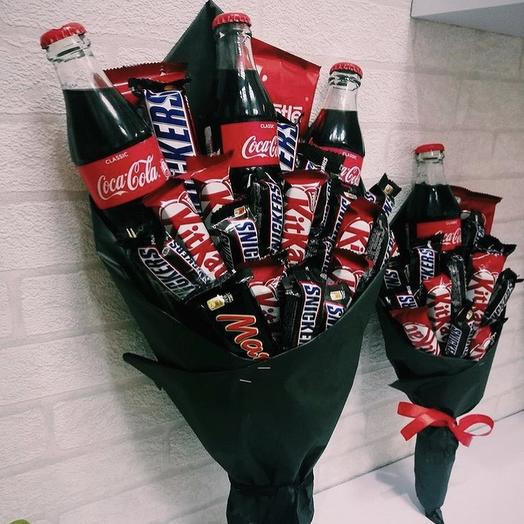 Все будет Coca-cola: букеты цветов на заказ Flowwow