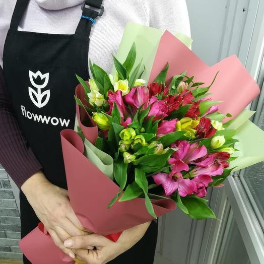 11 альстрамерий: букеты цветов на заказ Flowwow