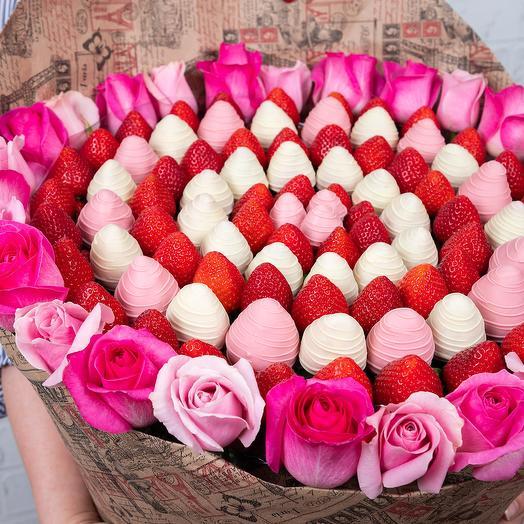 Букет Розовое облако: букеты цветов на заказ Flowwow