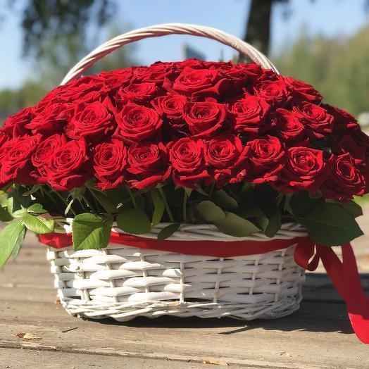 Basket of roses 101
