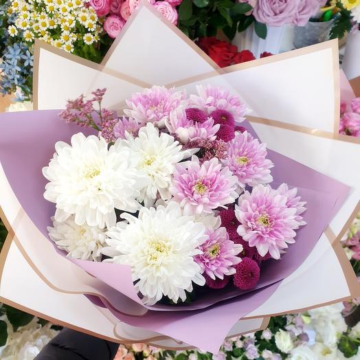Букет с хризантемой 💐