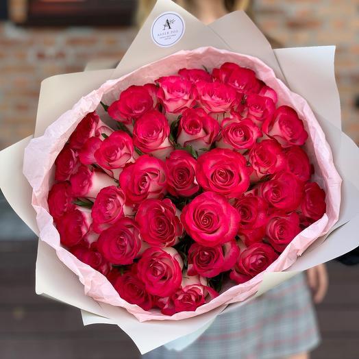Букет из 35 роз Кения