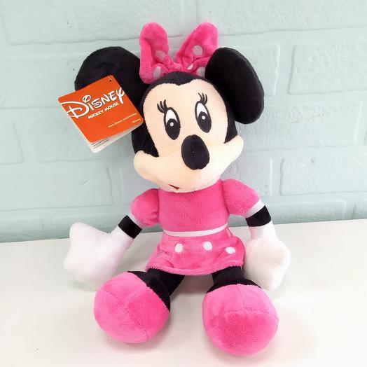 Мягкая игрушка Мики Маус девочка