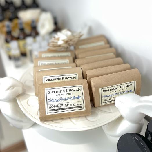 Твёрдое мыло от Zielinski Rozen
