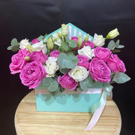 Цветочный конверт