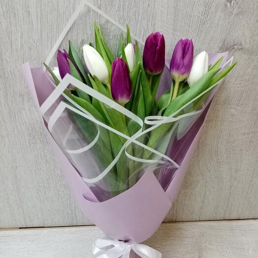 Микс тюльпанов