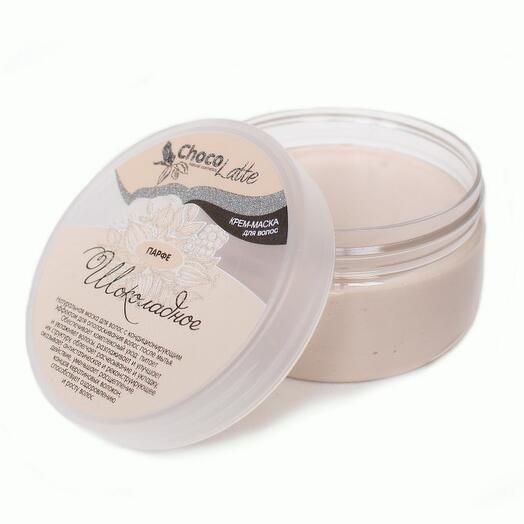 ChocoLatte Крем-маска для волос ПАРФЕ ШОКОЛАДНОЕ питание и укрепление всех типов волос, 200мл