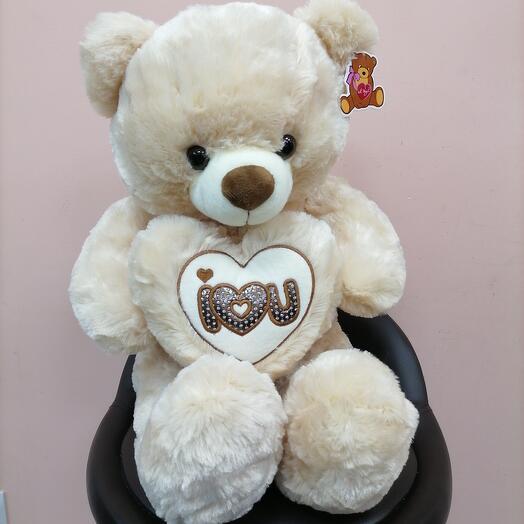 Медведь большой с сердцем
