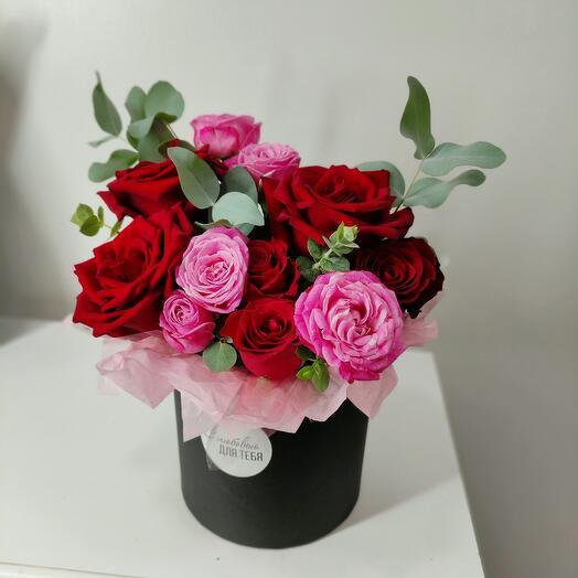 Цветы в коробке Единственная