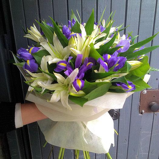 Королева Марго (Букет 240): букеты цветов на заказ Flowwow