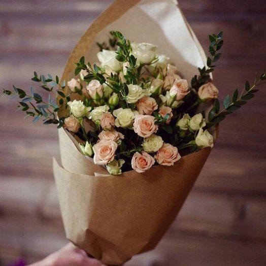 Кустовой розой, доставка цветов усть-илимске