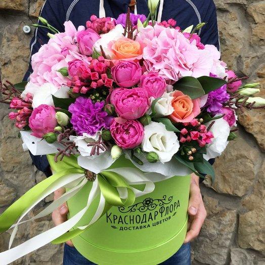 Цилиндр Лунное сияние: букеты цветов на заказ Flowwow
