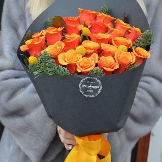 Лисичка: букеты цветов на заказ Flowwow