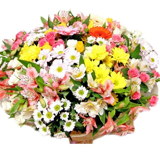 Букет цветы Радуги): букеты цветов на заказ Flowwow