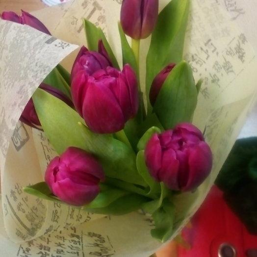 Тюльпаны 2: букеты цветов на заказ Flowwow