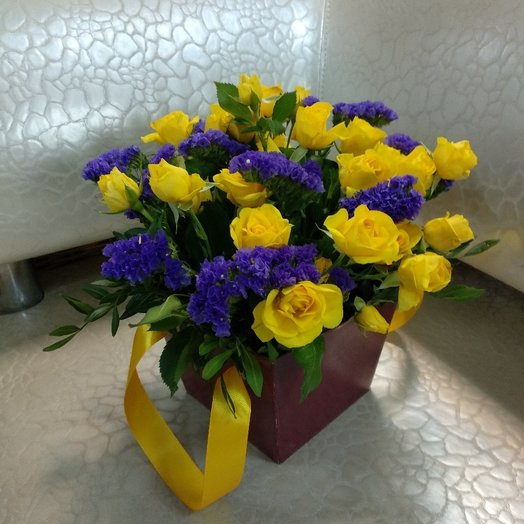 """Композиция """"Солнечные зайчики"""": букеты цветов на заказ Flowwow"""