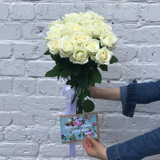 Нежные розы : букеты цветов на заказ Flowwow