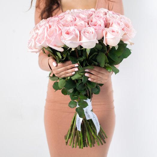 "Букет из 51 ""Пинк Охара"": букеты цветов на заказ Flowwow"