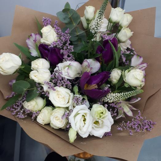 """Букет """"Лунная соната"""": букеты цветов на заказ Flowwow"""