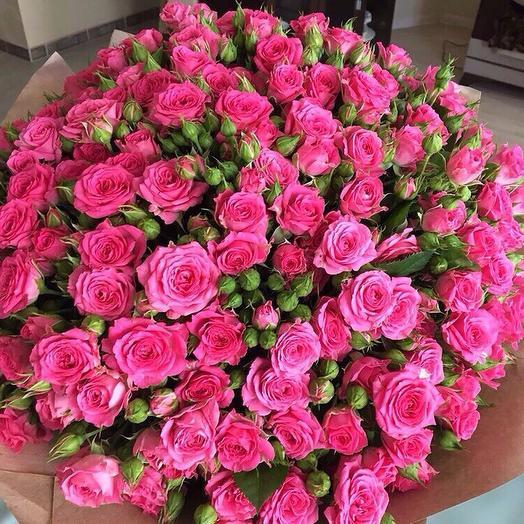 """""""Малина"""": букеты цветов на заказ Flowwow"""