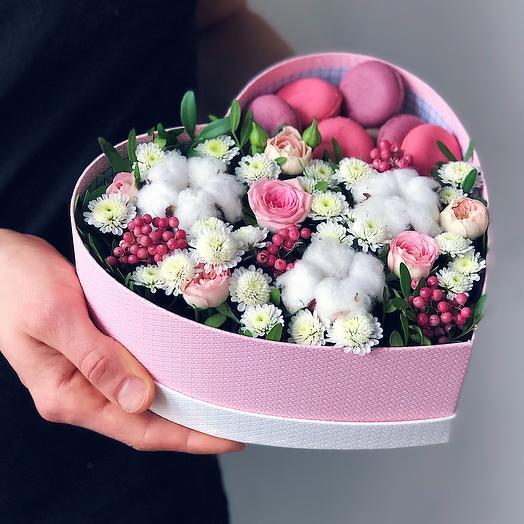 Heart 10: букеты цветов на заказ Flowwow
