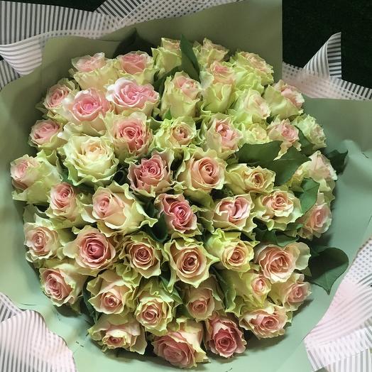 49 роз: букеты цветов на заказ Flowwow