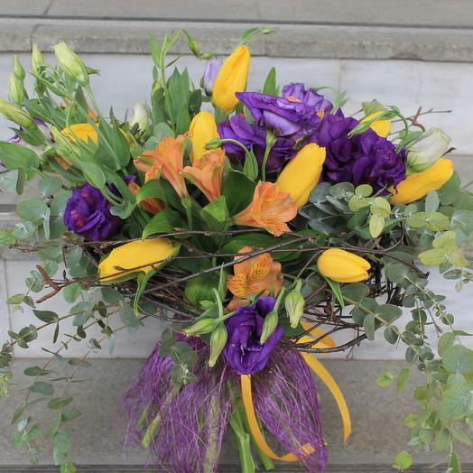 На контрасте: букеты цветов на заказ Flowwow