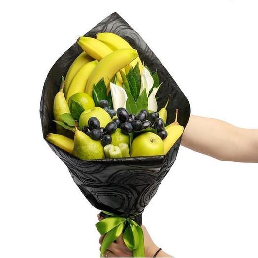 Фруктовый букет «Банан»: букеты цветов на заказ Flowwow