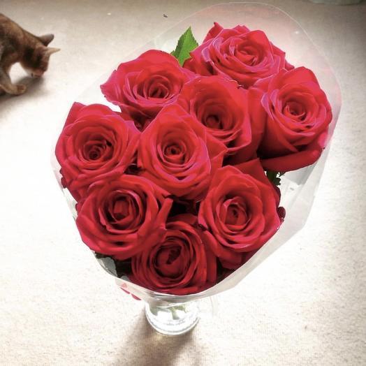 Red 9: букеты цветов на заказ Flowwow