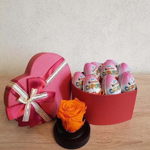 Подарчный набор 37: букеты цветов на заказ Flowwow