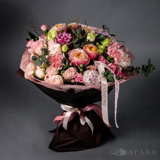 Ванильный шоколад: букеты цветов на заказ Flowwow