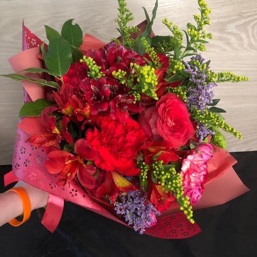 Букет 1903: букеты цветов на заказ Flowwow