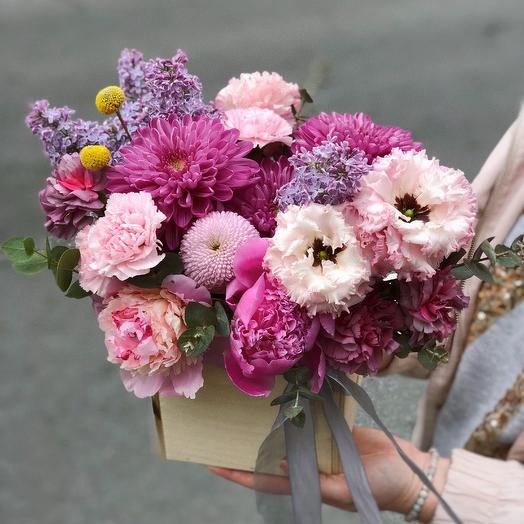 Ящик нежности: букеты цветов на заказ Flowwow