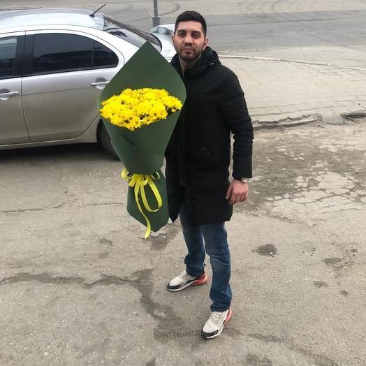 Букет из хризантем 2: букеты цветов на заказ Flowwow