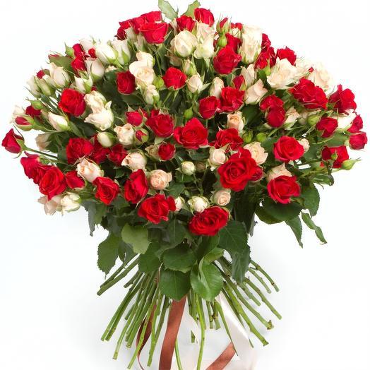 Спрей: букеты цветов на заказ Flowwow