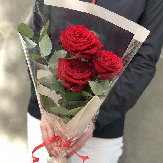 З розы