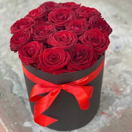 Огненная ночь: букеты цветов на заказ Flowwow