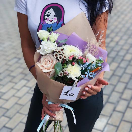 Букет первоклашки: букеты цветов на заказ Flowwow