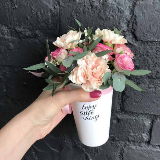 Enjoy little things: букеты цветов на заказ Flowwow