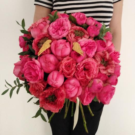 """Букет """"Садовая Симфония"""": букеты цветов на заказ Flowwow"""