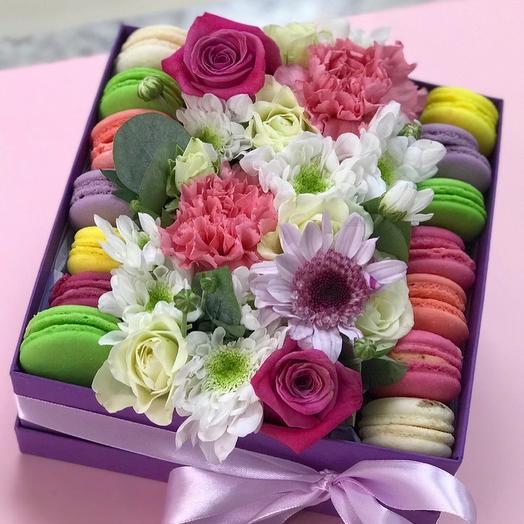 Сладкий подарочек: букеты цветов на заказ Flowwow