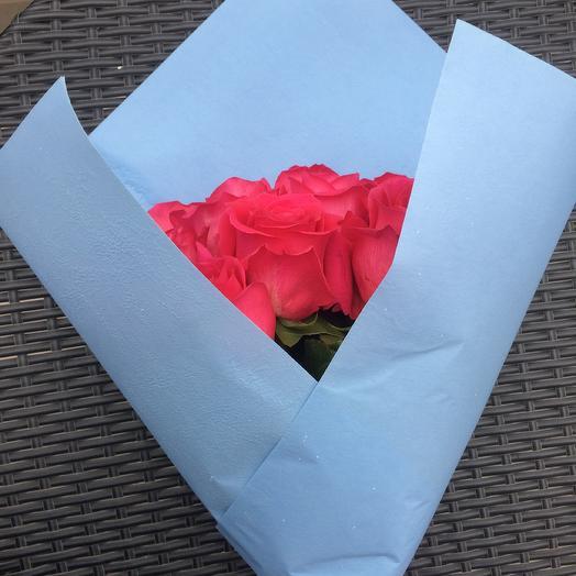 17 роз: букеты цветов на заказ Flowwow