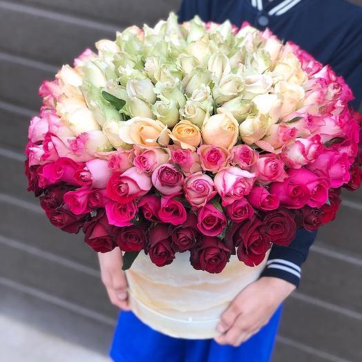 181 роза: букеты цветов на заказ Flowwow