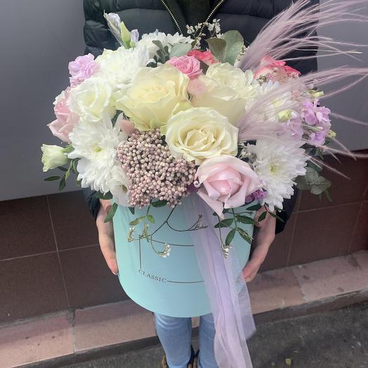 Милейшая коробка: букеты цветов на заказ Flowwow