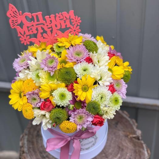 Коробочка ко дню матери: букеты цветов на заказ Flowwow